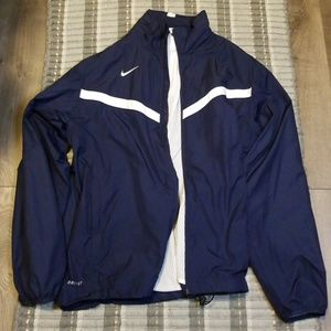 Nike Dri-Fit Navy Windbreaker